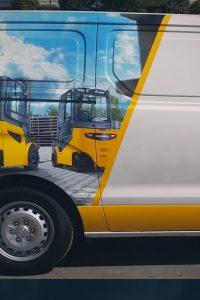 Envelopamento - Furgões e caminhões